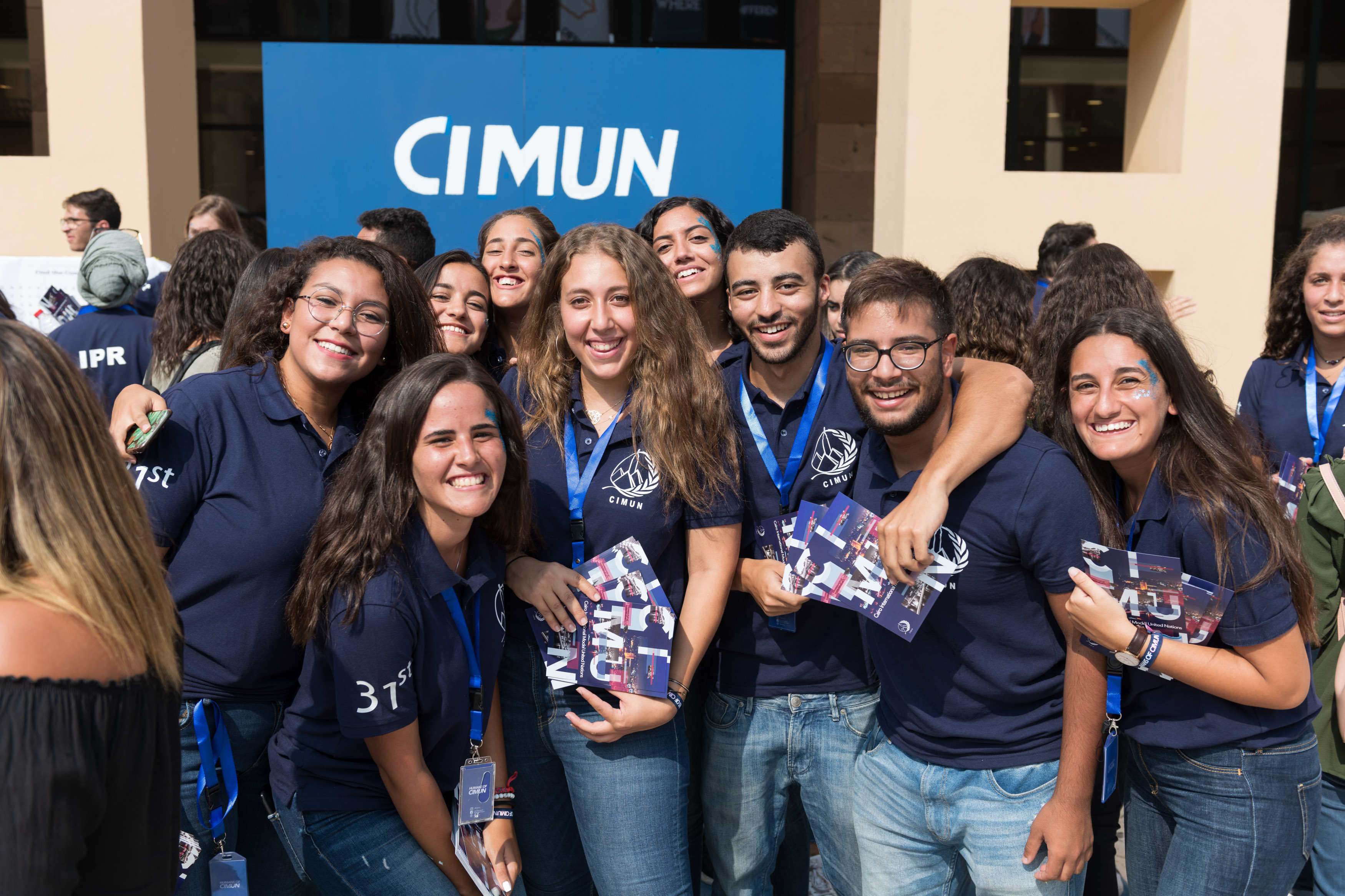 CIMUN students