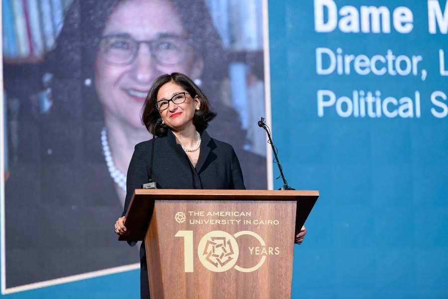 Dame Minouche Shafik Speaks in Nadia Younes Memorial Lecture at AUC
