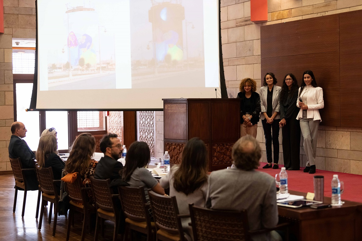 AUC Announces the Winning Team of AUC-Tameer Water Tower Competition
