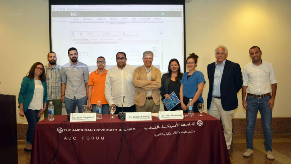 AUC Forum MENA Data Bank First to Centralize, Organize Data on Middle East