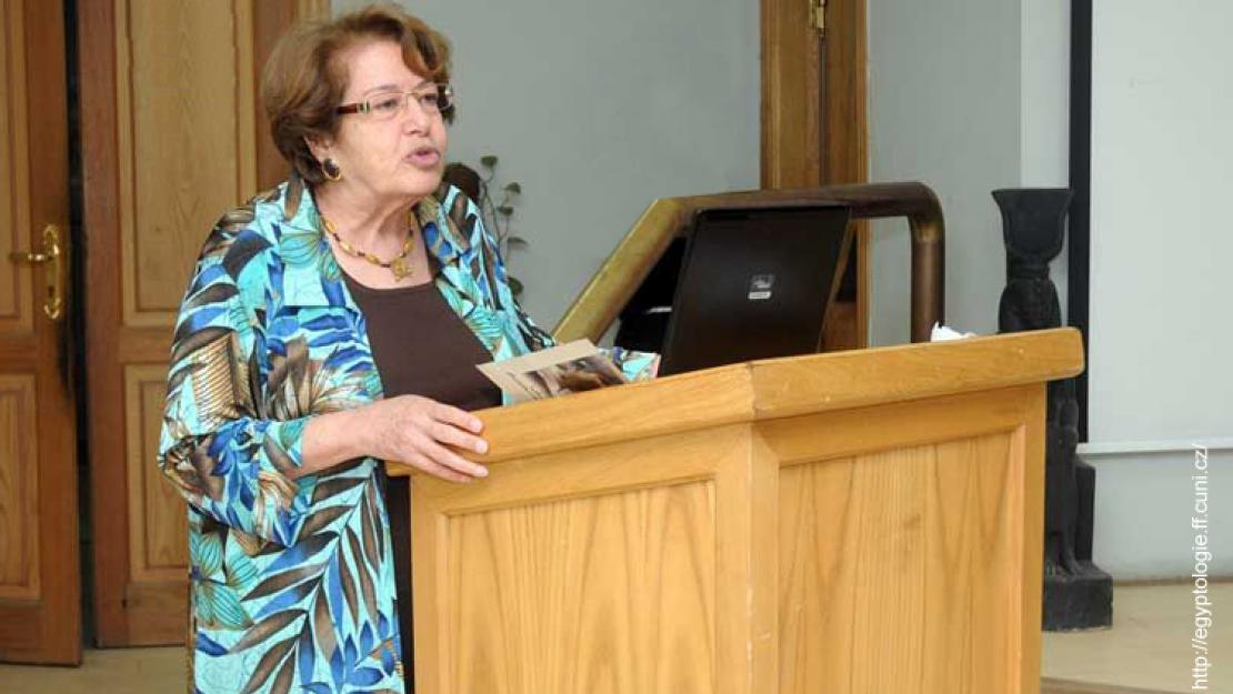 AUC Professor Fayza Haikal Receives Special Award of Excellence From International Association of Egyptologists