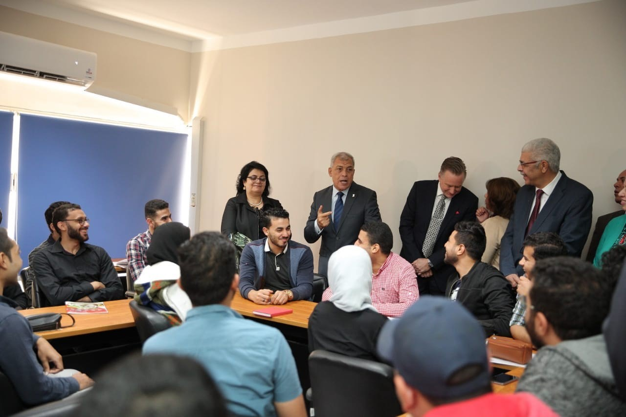 AUC, USAID Celebrate The Inauguration of Menoufia University Center for Career Development