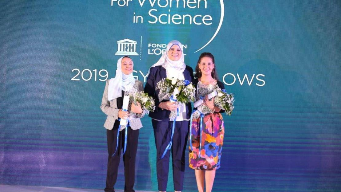 AUC PhD Student Wins L'OREAL-UNESCO For Women in Science Award