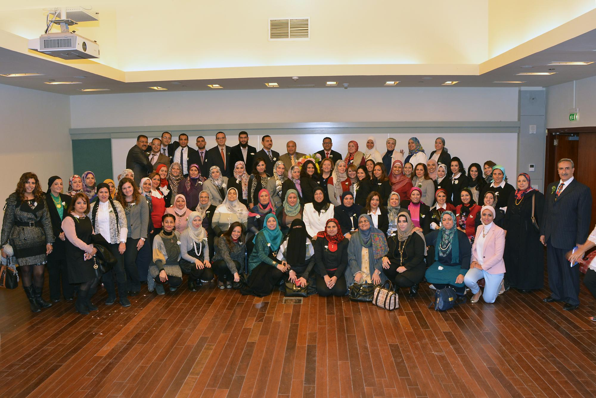 Graduates of the Professional Educator Diploma Fellowship at AUC's Graduate School of Education are trained to become facilitators of learning