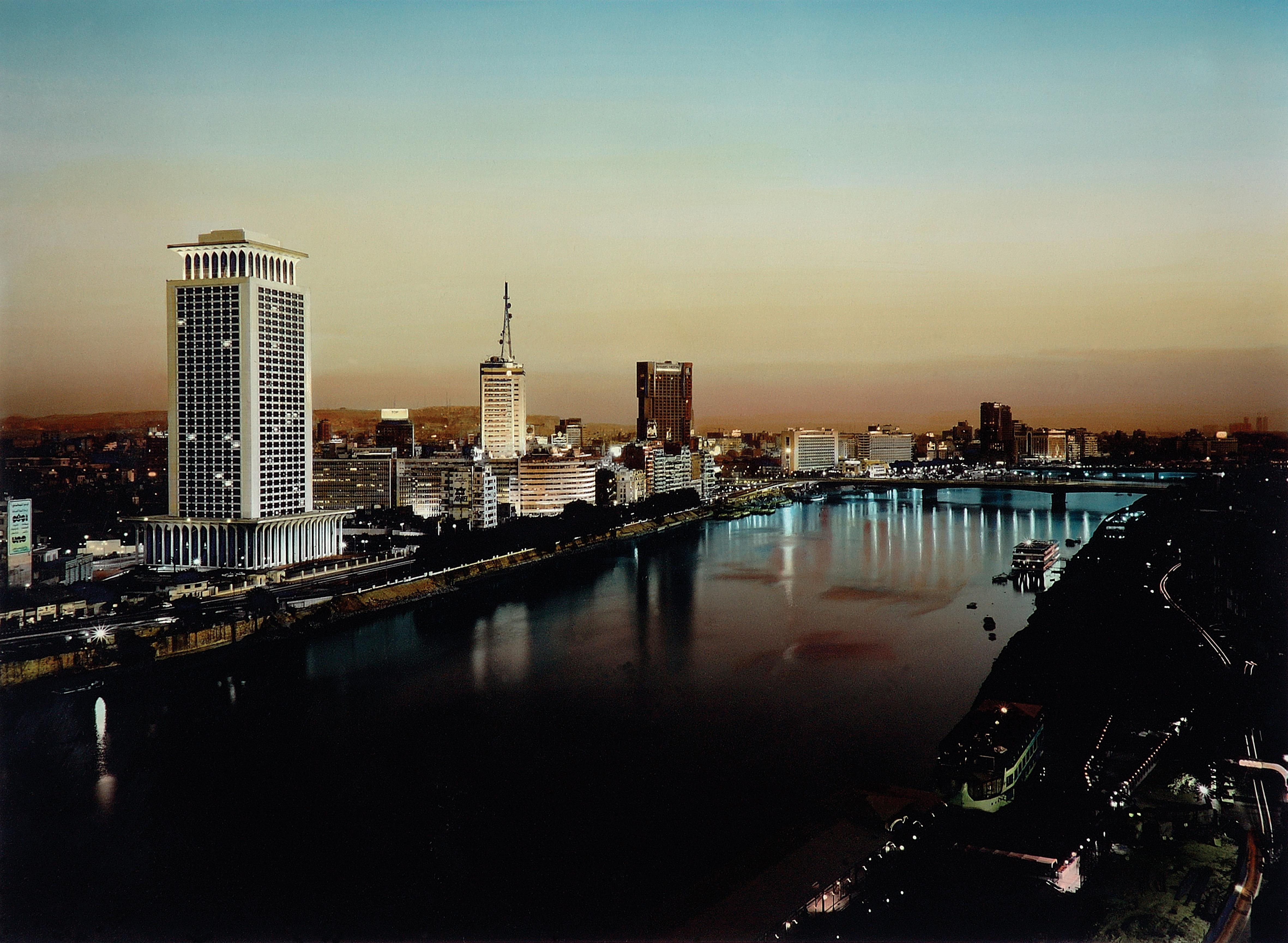 Cairo Nile at Night