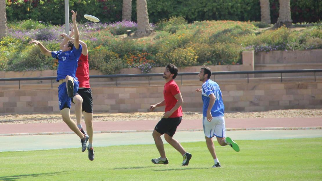 AUC's Ultimate Frisbee team will compete this weekend at the University in the first ever MENA Ultimate Frisbee Club Championship