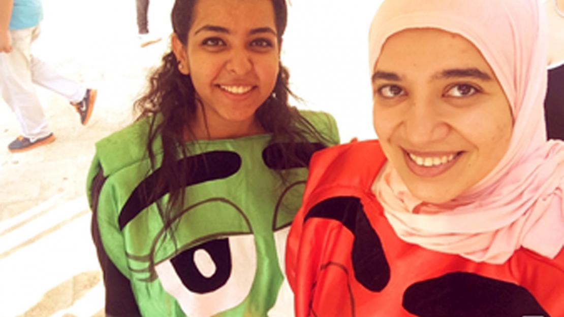 M&M campaign organized by AUC's Office of Student Support to raise awareness on learning disabilities