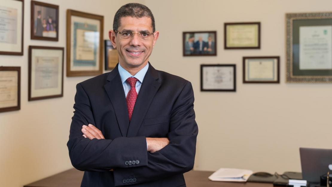 Sherif Sedky begins his first semester as AUC's new provost