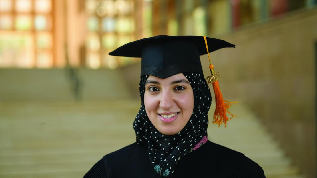 Menna Hasan (MSc '18): My master's at AUC was even better than I expected