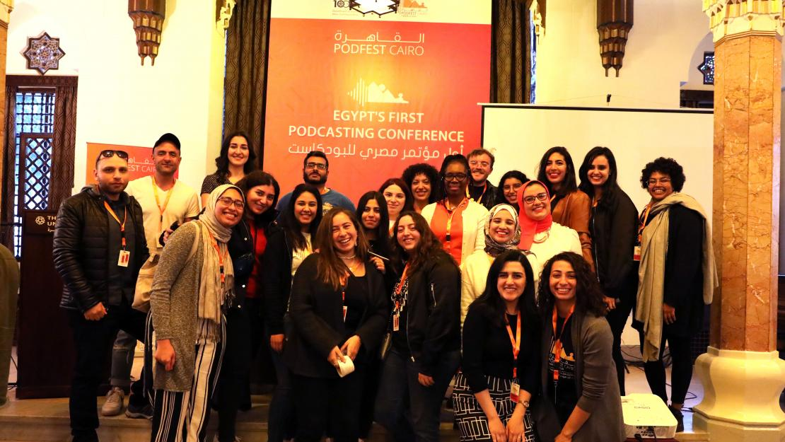 Auc Launches Podfestcairo Egypt S First Podcasting Conference The American University In Cairo