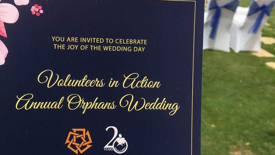 13th Group Wedding for Orphan Brides