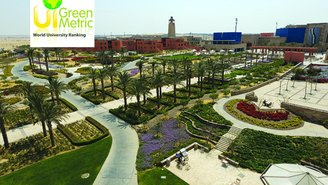AUC ranked 81 worldwide in UI GreenMetric ranking of most sustainable universities
