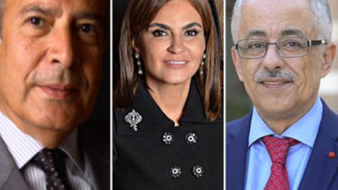 Three members of the AUC community have recently been appointed ministers for the Egyptian government