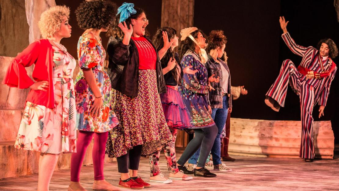 AUC students perform Lysistrata, directed by Jillian Campana