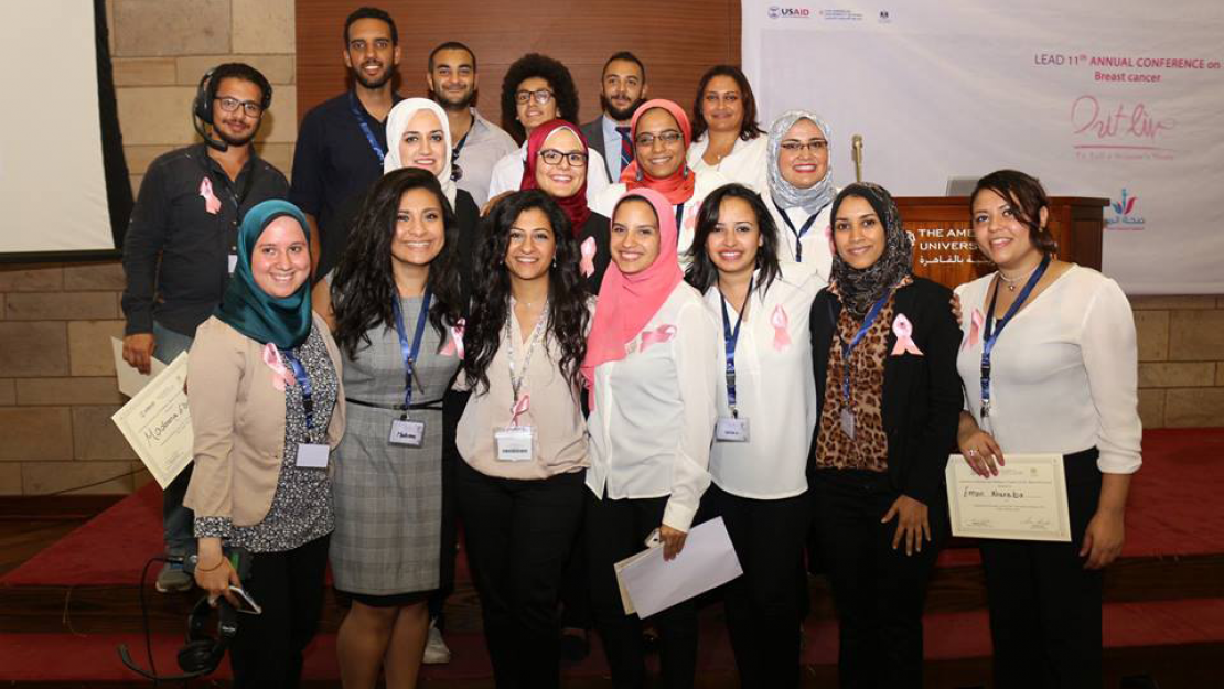 Students in the Leadership for Education and Development (LEAD) program hosted the 11th annual conference on Outlive: Breast Cancer