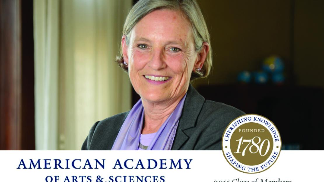 President Lisa Anderson has been inducted into the American Academy of Arts and Sciences