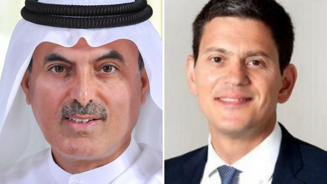 Abdul Aziz Al Ghurair and David Miliband will speak at this year's undergraduate and graduate commencement ceremonies, respectively, and will receive honorary degrees from the University.
