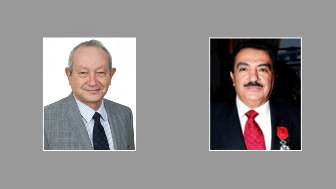 Naguib Sawiris and Hamza AlKholi are the newest members of AUC's Board of Trustees