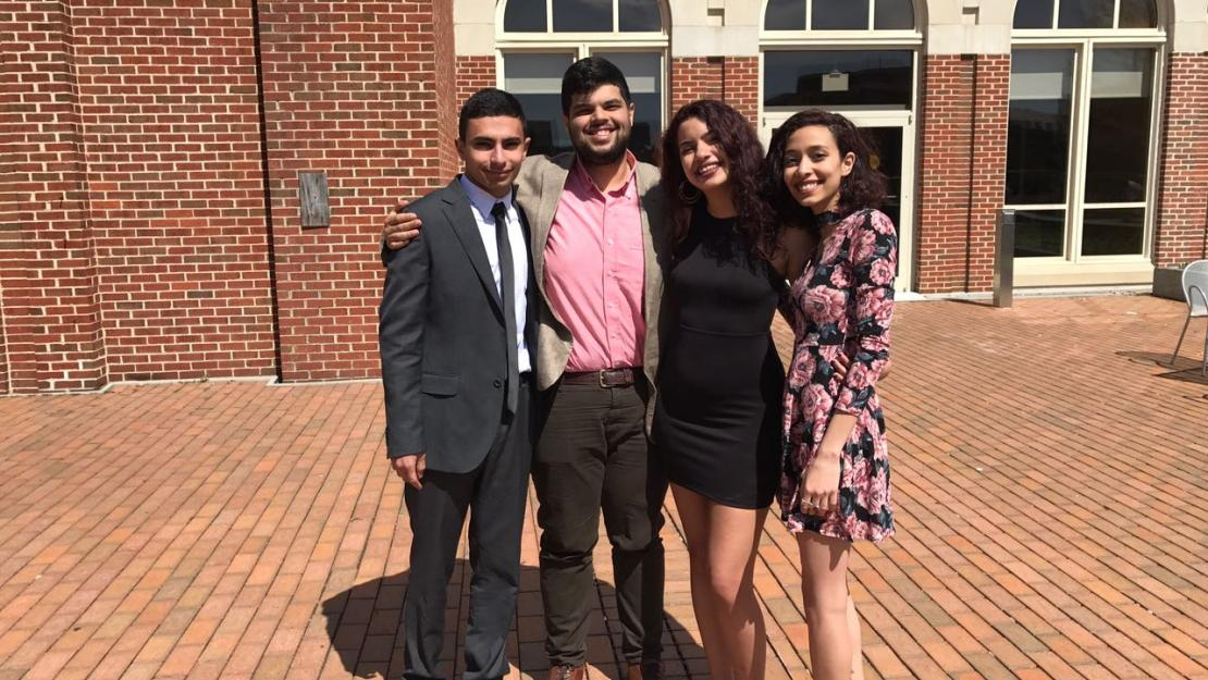 AUC students visited Washington D.C. to participate in Georgetown University's 34th U.S. National Universities Model Arab League.
