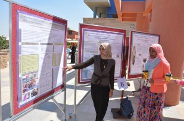A presentation at last year's Research Day