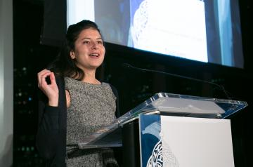 Yumna Madi '04, AUC alumna and co-founder of KarmSolar