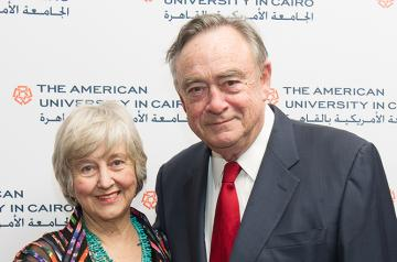 Mary Kay and B. Boyd Hight, former chairman of AUC's Board of Trustees
