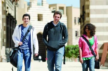 Trends for AUC's class of 2019 include a rise in applications and more selective admissions.