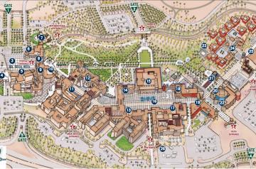 Valparaiso Campus Map.American University In Cairo