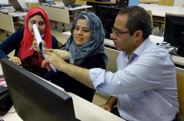 ACE's Teacher Training Program connects AUC faculty with public school teachers from Ma'asara