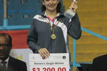 At the International Table Tennis Federation Africa Cup Dina Meshref was named African Table Tennis Champion, qualifying her to move on to the Table Tennis Women's World Cup